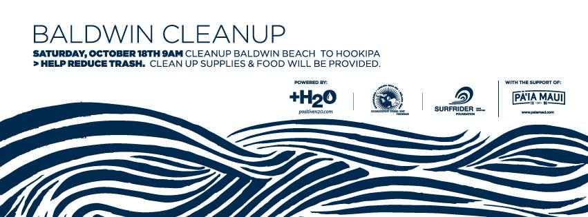 CANCELED DUE TO WEATHER!: Baldwin Beach Park Cleanup!  9-12: Saturday, Oct. 18: Weather Permitting