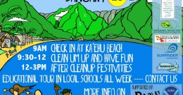 Maui Cleanup Flyer