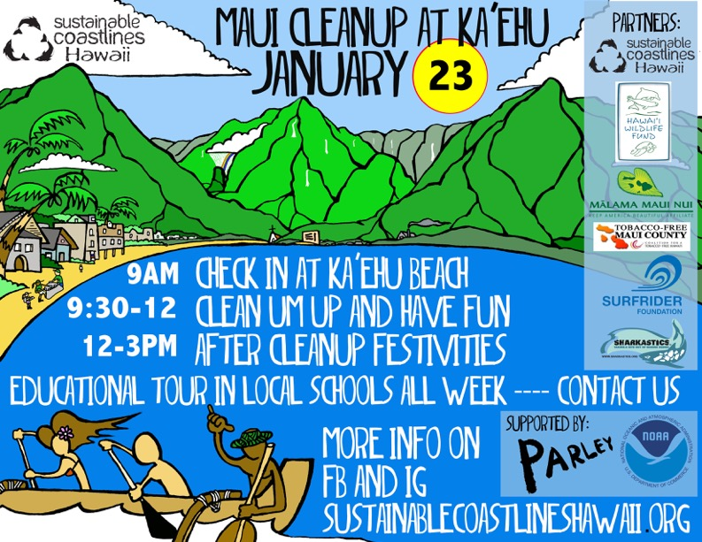 Ka'ehu Beach Cleanup