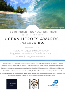 First Annual Ocean Heroes Awards Celebration