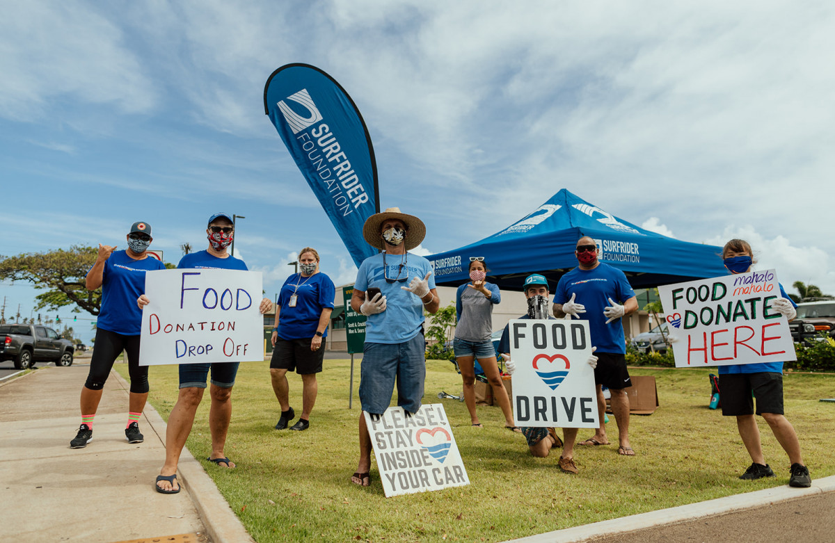 Island Wide Food Drive on Maui helps wraps up Volunteer Week Hawaii